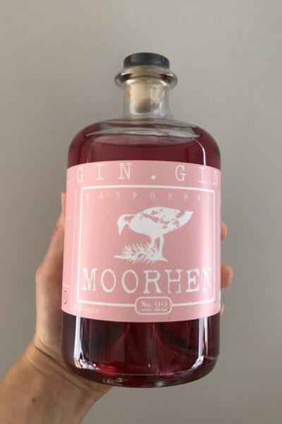 Heaton's Moorhen Raspberry Gin 70cl.
