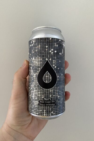 Disco Infiltrator West Coast IPA by Polly's Brew Co.
