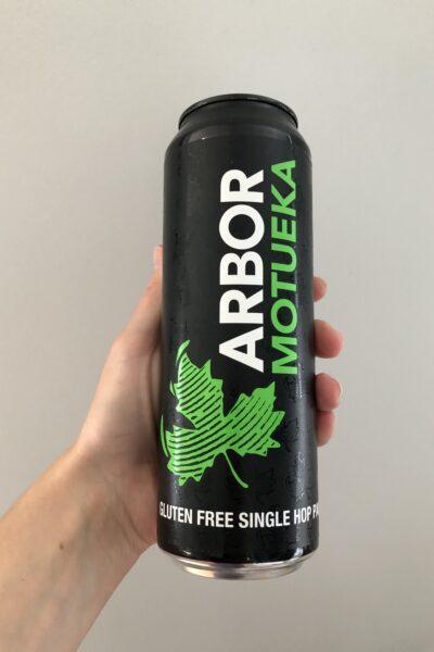 Motueka Gluten-Free Pale Ale by Arbor Ales.