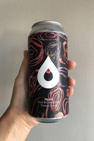 Smooth Craze Plum and Cherry Gose by Polly's Brew Co.