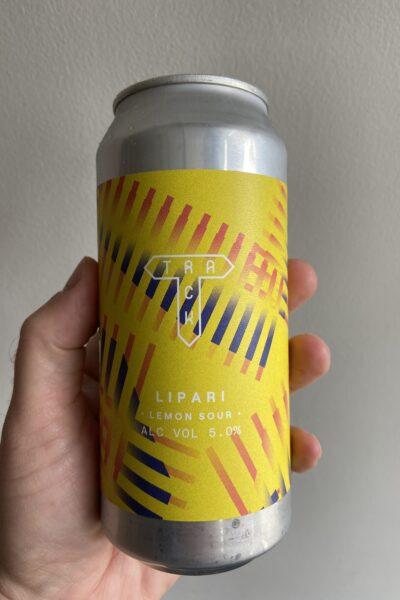 Lipari Lemon Sour by Track Brewing Company.