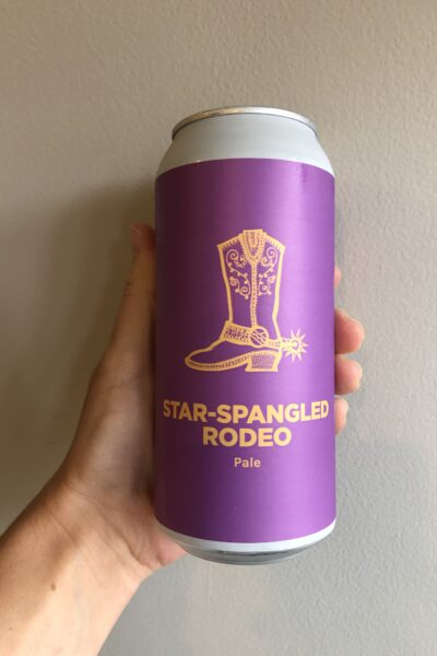 Star-Spangled Rodeo Pale Ale by Pomona Island Brew Co.