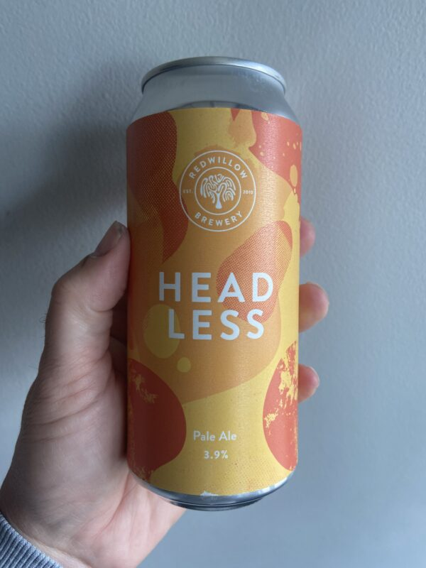 Headless Pale Ale by RedWillow Brewery.