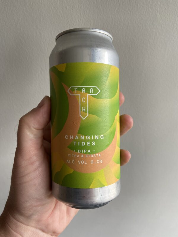 Changing Tides DIPA by Track Brewing Company.