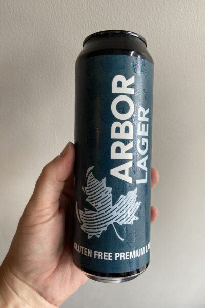 Gluten Free Lager by Arbor Ales.