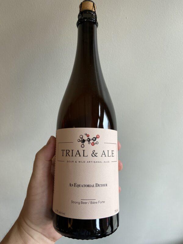 An Equatorial Detour Sour Ale by Trail & Ale Brewing Company.