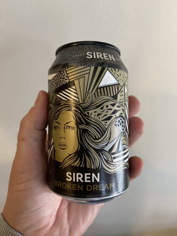 Broken Dream Oatmeal Stout by Siren Craft Brew.