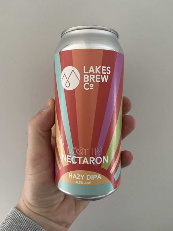 Lost In Nectaron Hazy DIPA by Lakes Brew Co.