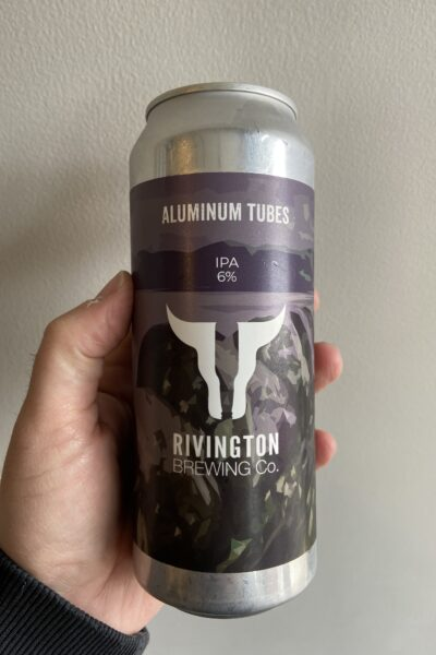 Aluminum Tubes IPA by Rivington Brewing Co.