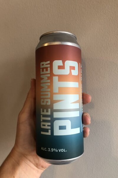 Late Summer Pints Pale Ale by Marble Beers.