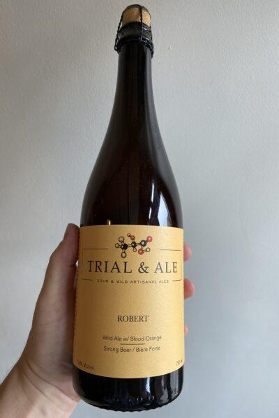 Robert Brett Ale by Trial & Ale Brewing Company.