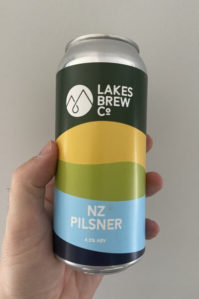 NZ Pilsner by Lakes Brew Co.