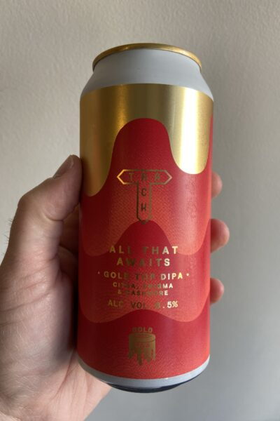 All That Awaits Gold Top Milkshake Imperial IPA by Track Brewing Company.