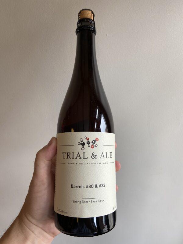 Barrel #30 & #32 Sour by Trial & Ale Brewing Company.