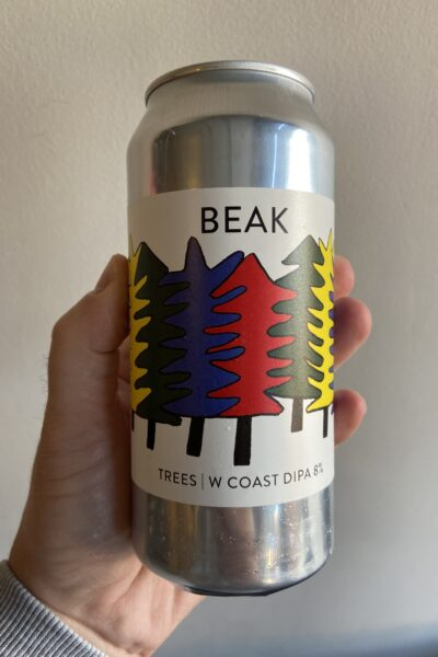 Trees V1 West Coast Imperial IPA by The Beak Brewery.