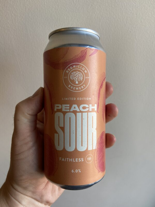 Peach Sour (F151) by RedWillow Brewery.