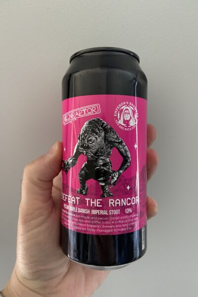 Defeat the Rancor Imperial Pastry Stout by Neon Raptor Brewing Co.
