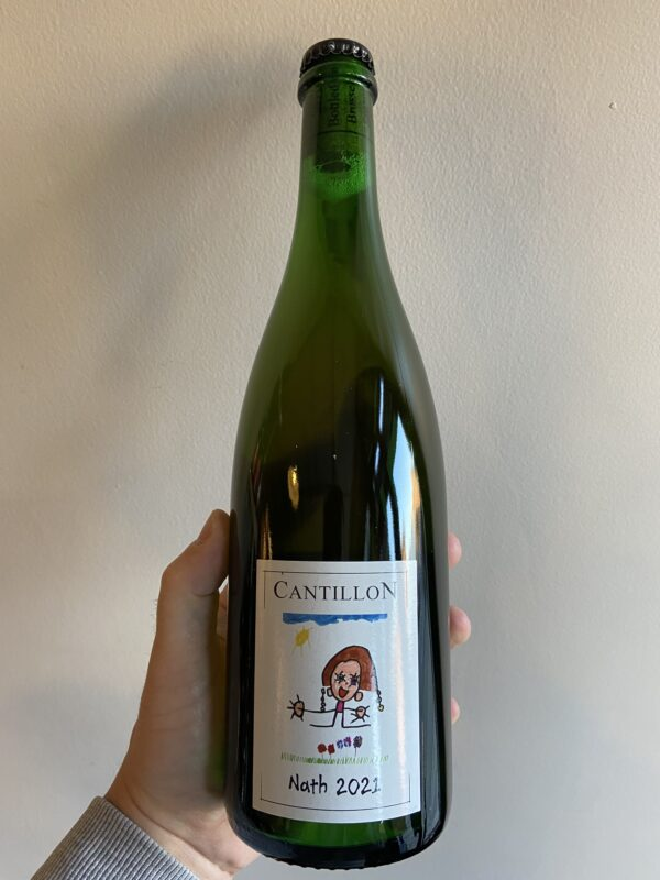 Nath 2021 lambic by Brasserie Cantillon.
