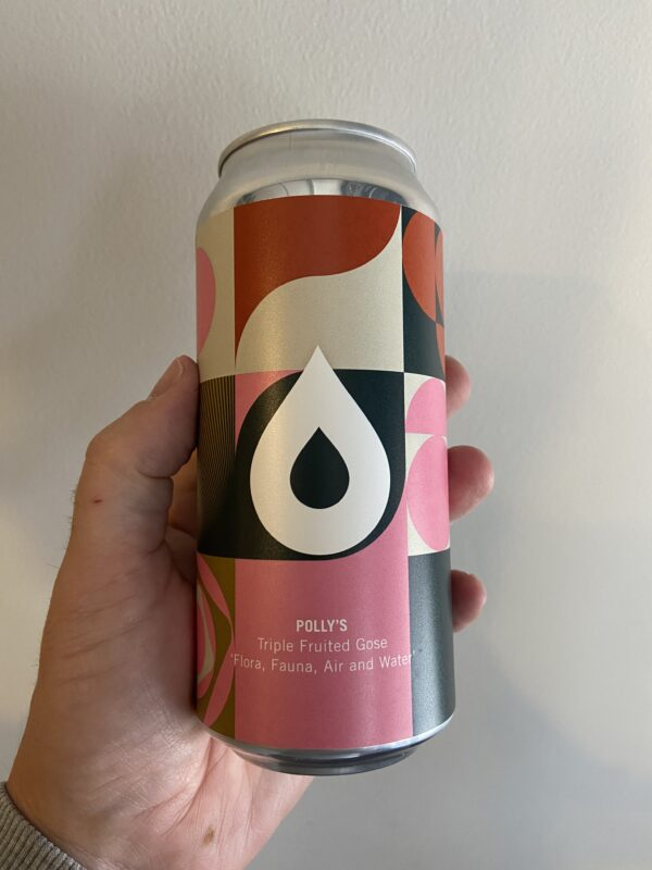 Flora, Fauna, Air and Water Triple Fruited Gose by Polly's Brew Co.