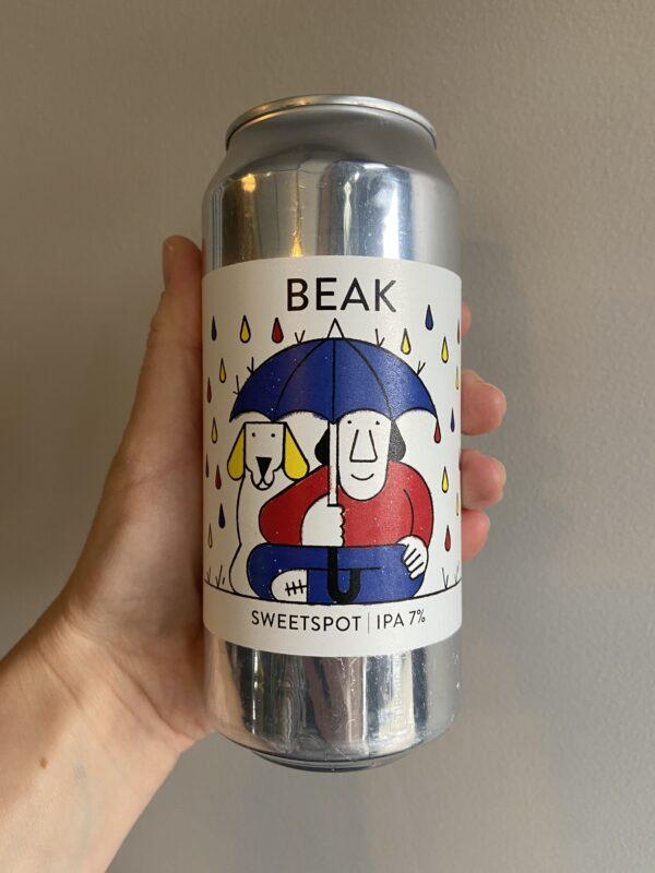 Sweetspot IPA by The Beak Brewery.