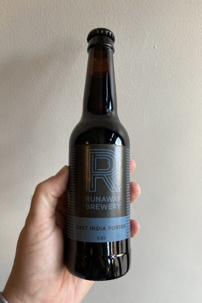 East India Porter by Runaway Brewery.