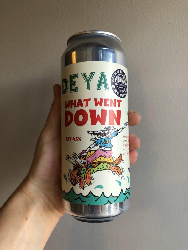 What Went Down Kölsch by Deya Brewing Company x Mikkeller.