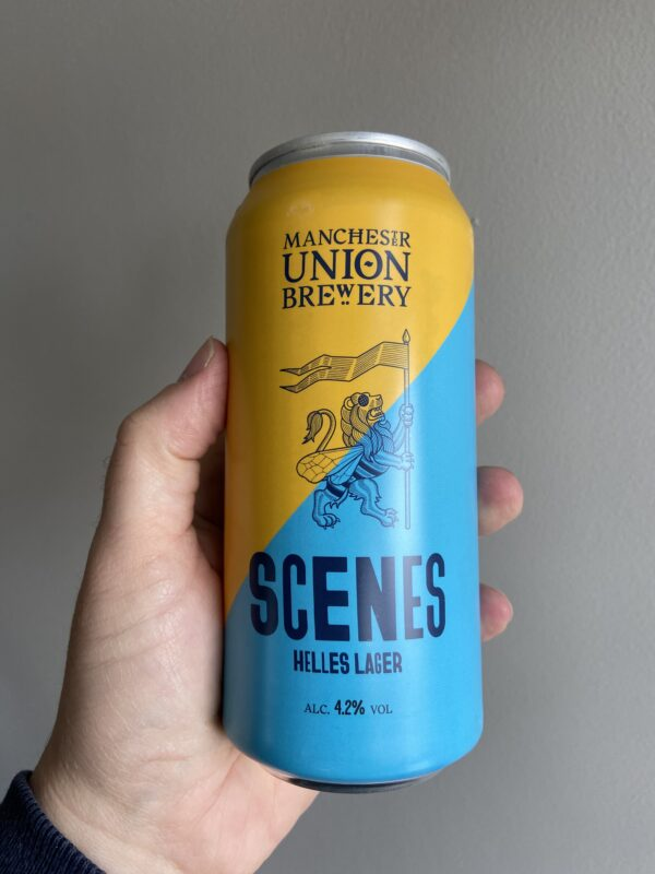 Scenes Munich Style Helles Lager by Manchester Union.