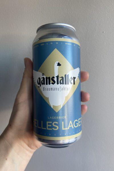 Helles Lager by Gänstaller Braumanufaktur.