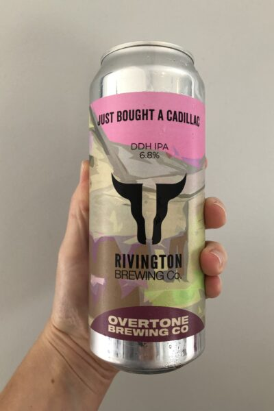 Just Bought a Cadillac IPA by Rivington Brewing Co.