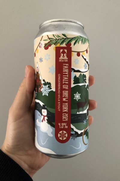 Fairytale of Brew York Gingerbread Milk Stout by Brew York.