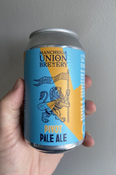Pivot Pale Ale by Manchester Union Brewery.