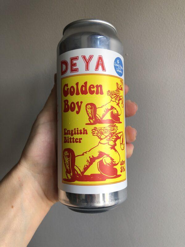 Golden Boy English Bitter by Deya Brewing Company x Saint Mars of the Desert.